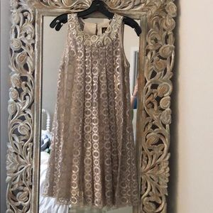 Sachin & Bobi Anthropologie Holiday Sequin Dress 4